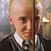 Draco with Wand