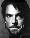 Jeremy Irons black and white