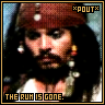 The rum is gone